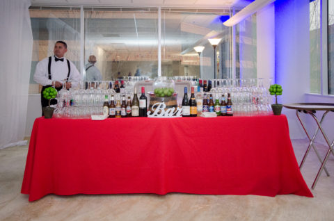 Bar and Beverage Station