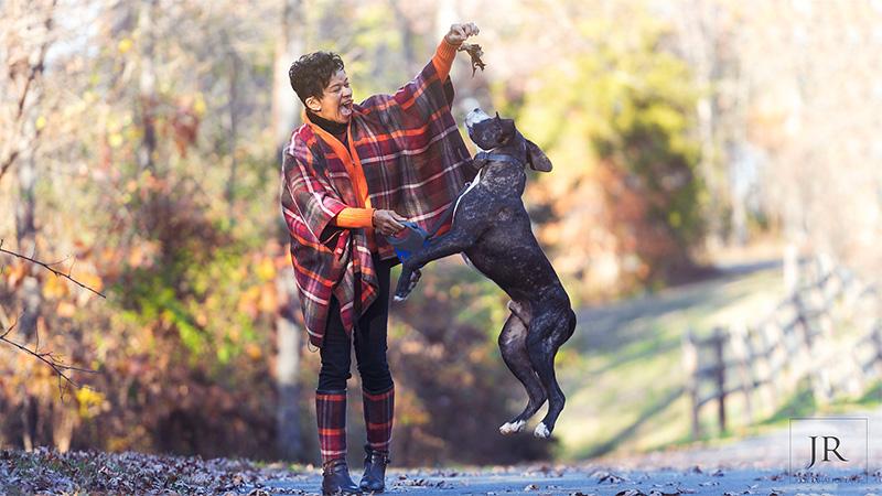 Washington DC pet portraits outdoors