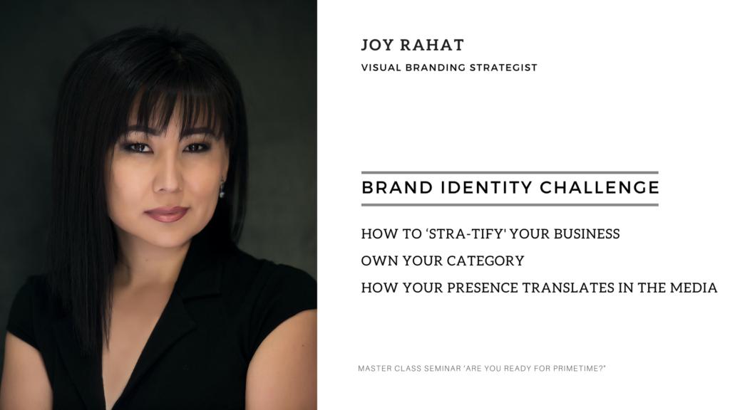 Joy Rahat VISUAL BRANDING STRATEGIST